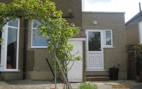 Single storey domestic extension, Potters Bar