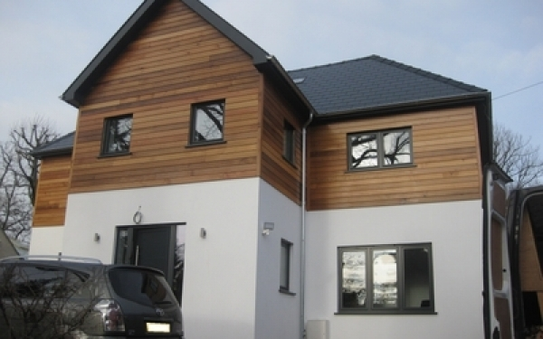 House extension and redevelopment, Welwyn