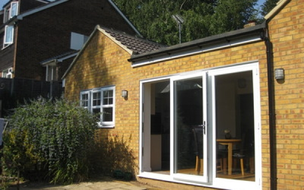 Single storey rear extension, Digswell
