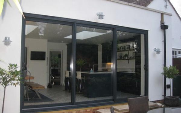Rear kitchen extension, Welwyn
