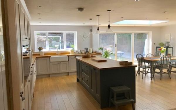 Rear kitchen extension, Royston