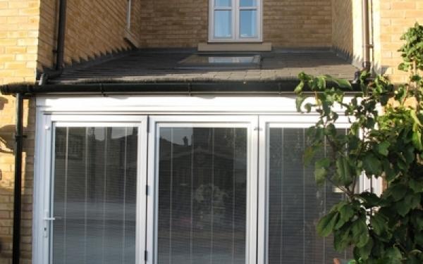 Single storey rear infill extension, Stotfold